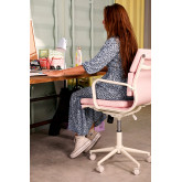 Bürostuhl auf Rädern Fhöt Farben , Miniaturansicht 3