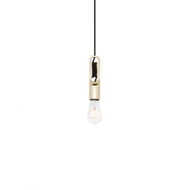 Lampe Clip metallisiert