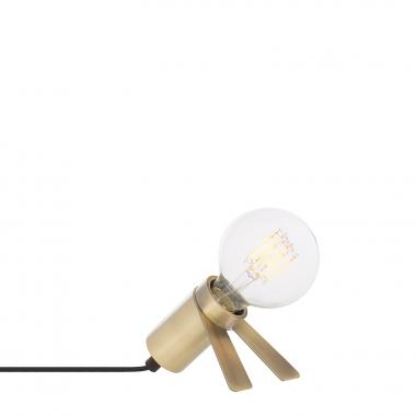 Lampe Crawl metallisiert