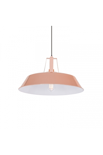 Lampe Workshop metallisiert