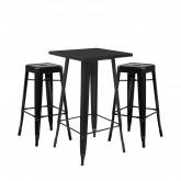 Stellen Sie High Table LIX & 2 High Stools LIX ein, Miniaturansicht 1