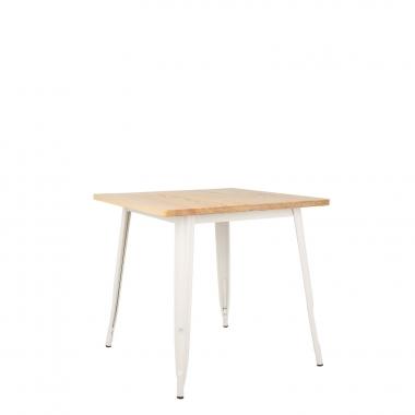 Tisch LIX Matt Holz (80x80)