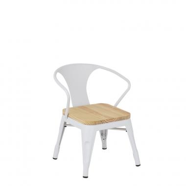 Stuhl mit Armlehnen LIX Holz [KIDS!]