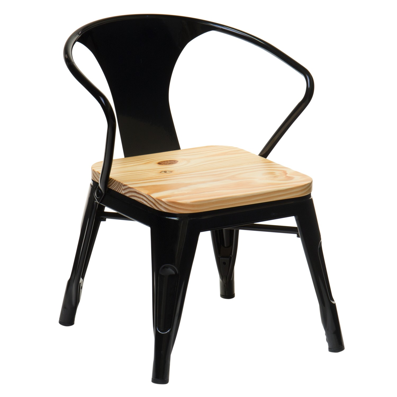 Stuhl mit Armlehnen Mini Lix Kids Holz , Galeriebild 1