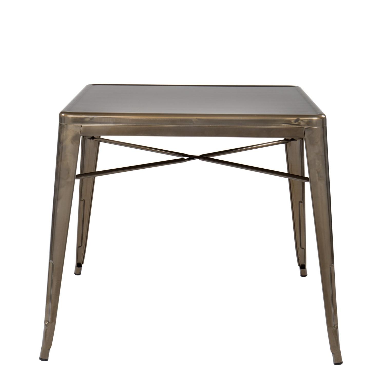 tisch lix x geb rstet 80x80 sklum. Black Bedroom Furniture Sets. Home Design Ideas