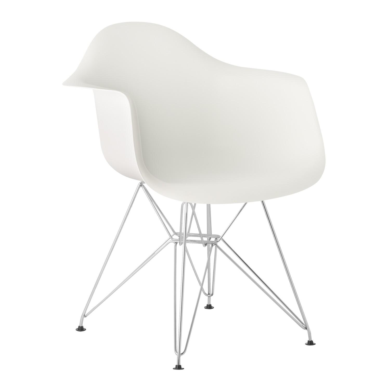 Stuhl mit Armlehnen Brich Scand Metall - SKLUM