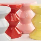 Runder Keramik-Beistelltisch (Ø33 cm) Bolöh, Miniaturansicht 4