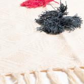 Decke Plaid in Baumwolle Fest, Miniaturansicht 3