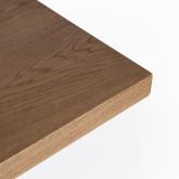 Mesa de Comedor en MDF y Metal (200x100 cm) Enma
