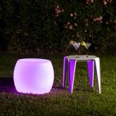 Taburete LED RGB  Recargable