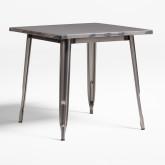 Tisch LIX gebürstet (80x80), Miniaturansicht 1