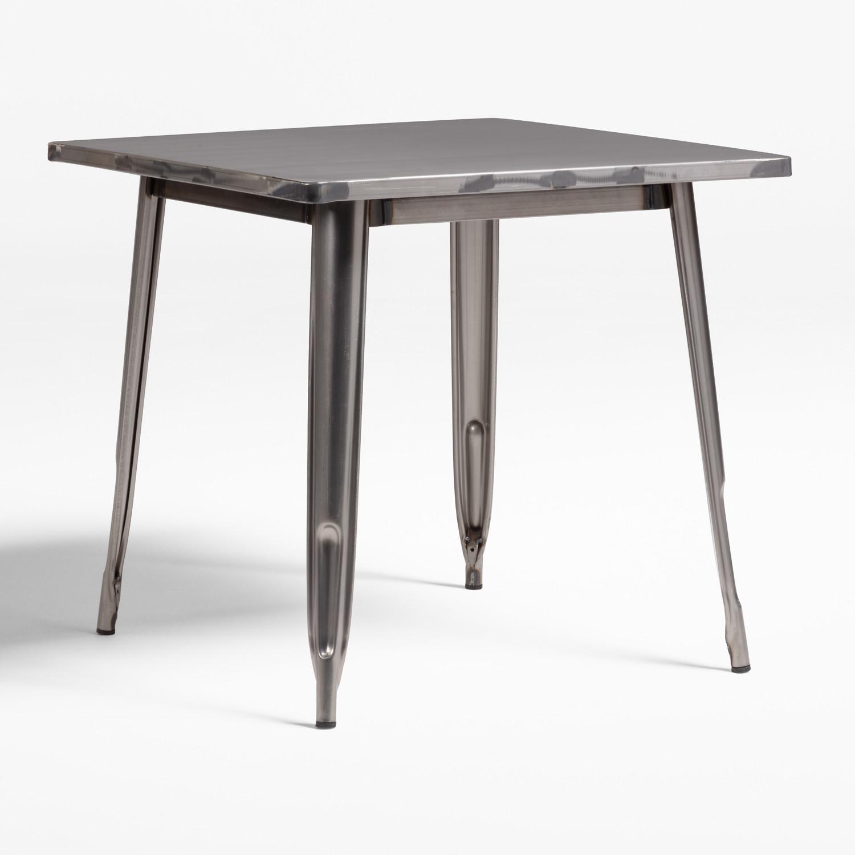 Tisch LIX gebürstet (80x80), Galeriebild 1