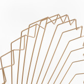 Metallwandspiegel (61,5 x 61 cm) Bïggy, Miniaturansicht 5