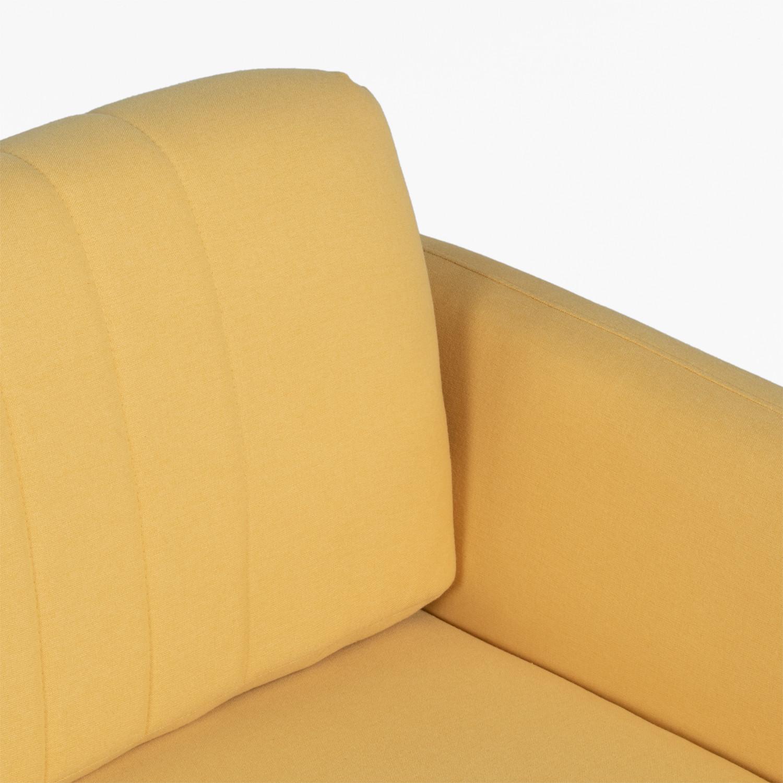 2-Sitzer-Sofa aus Tysen-Stoff - SKLUM