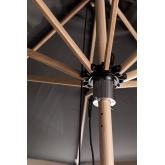 Sonnenschirm aus Stoff und Stahl (Ø300 cm) Boors, Miniaturansicht 3