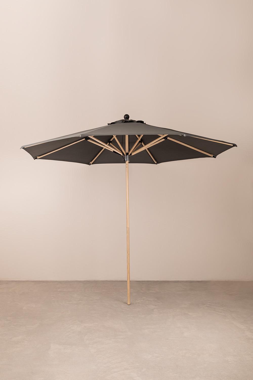 Sonnenschirm aus Stoff und Stahl (Ø300 cm) Boors, Galeriebild 1