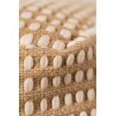 Pouf in Jute und Fuo Cotton, Miniaturansicht 5