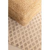 Quadratischer Pouf in Jute Pilew, Miniaturansicht 5