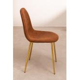 Stuhl aus Kunstleder Glamm, Miniaturansicht 2