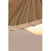 Lámpara de Techo en Hoja de Coco (Ø52 cm) Alis