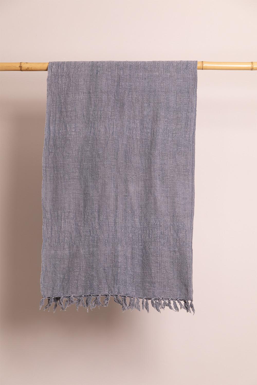 Karierte Decke aus majestätischer Baumwolle, Galeriebild 1