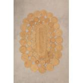Ovaler Juteteppich (178 x 120 cm) Dantum, Miniaturansicht 1