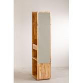 Arlan Flur Kleiderschrank mit Spiegel, Miniaturansicht 5