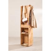 Arlan Flur Kleiderschrank mit Spiegel, Miniaturansicht 3