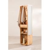 Arlan Flur Kleiderschrank mit Spiegel, Miniaturansicht 1