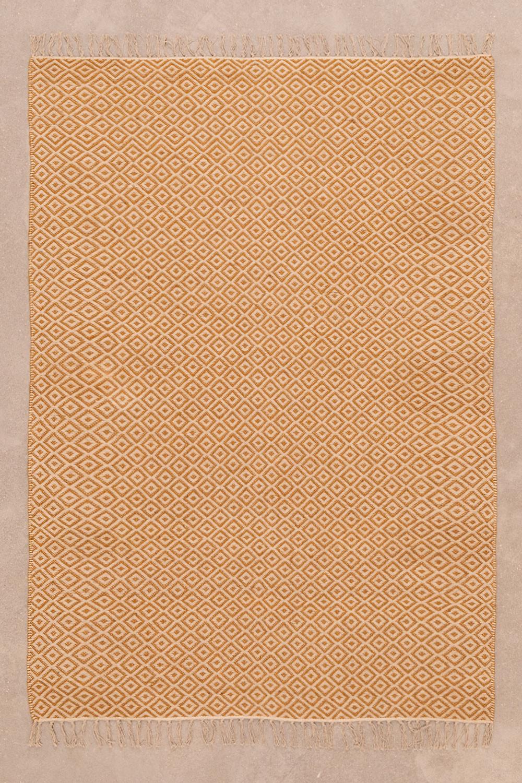 Teppich aus Baumwolle und Jute (175 x 120 cm) Durat, Galeriebild 1