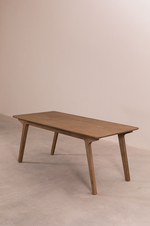Ausziehbarer Esstisch aus Holz (170 x 95 cm) Quëbi SKLUM