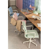 Bürostuhl auf Rädern Fhöt Farben , Miniaturansicht 6