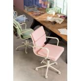 Bürostuhl auf Rädern Fhöt Farben , Miniaturansicht 1