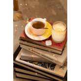 Set 6 Kaffeetassen mit Unterteller Tracya, Miniaturansicht 1