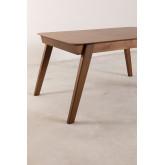 Ausziehbarer Esstisch aus Walnuss (150-180x90 cm) Aliz, Miniaturansicht 6