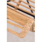 Esszimmerstuhl im synthetischen Rattan-Mimbar-Stil, Miniaturansicht 5