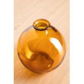 Vase aus recyceltem Glas Kimma, Miniaturansicht 2
