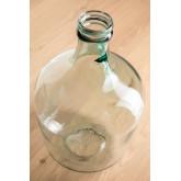 Demijohn in recyceltem transparentem Glasheber, Miniaturansicht 2