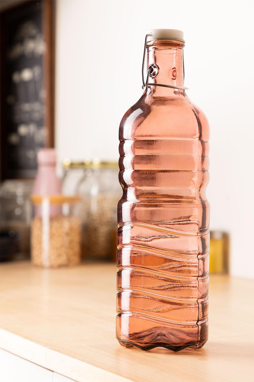 1,5 l recycelte Glasflasche Margot, Galeriebild 1