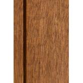 Kleiderschrank mit 2 Schiebetüren aus Uain-Holz, Miniaturansicht 6