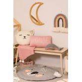 Anuky Kinder rundes Baumwollkissen, Miniaturansicht 6