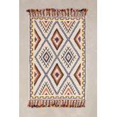 Teppich aus Wolle und Baumwolle (206x138 cm) Nango, Miniaturansicht 1