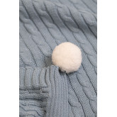 Decke Swaddle Benys Kids aus geflochtener Baumwolle, Miniaturansicht 6