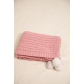 Decke Swaddle Benys Kids aus geflochtener Baumwolle, Miniaturansicht 3