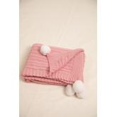 Decke Swaddle Benys Kids aus geflochtener Baumwolle, Miniaturansicht 4