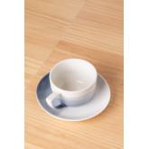 Set mit 4 Kaffeetassen aus porzellan Mar, Miniaturansicht 3