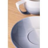Set mit 4 Teetassen aus porzellan Mar , Miniaturansicht 3