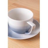 Set mit 4 Teetassen aus porzellan Mar , Miniaturansicht 2