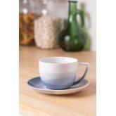 Set mit 4 Teetassen aus porzellan Mar , Miniaturansicht 1