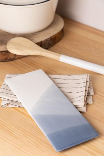 Pack mit 4 rechteckigen Platten (27,5 x 10 cm) Mar.